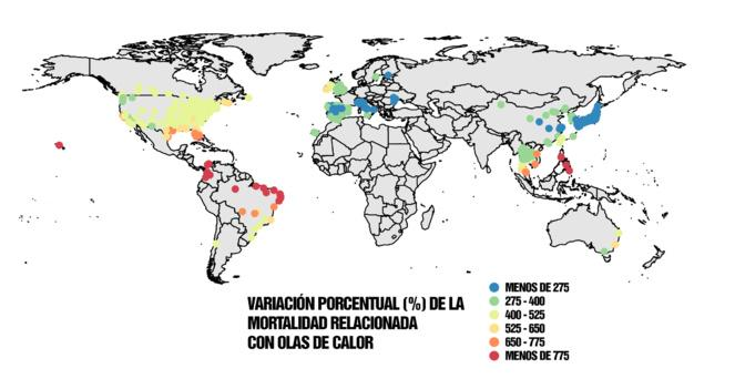 Las olas de calor, nueva amenaza global